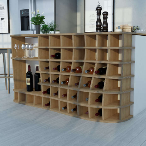 Designer-Küchenregal nach Maß Vinod