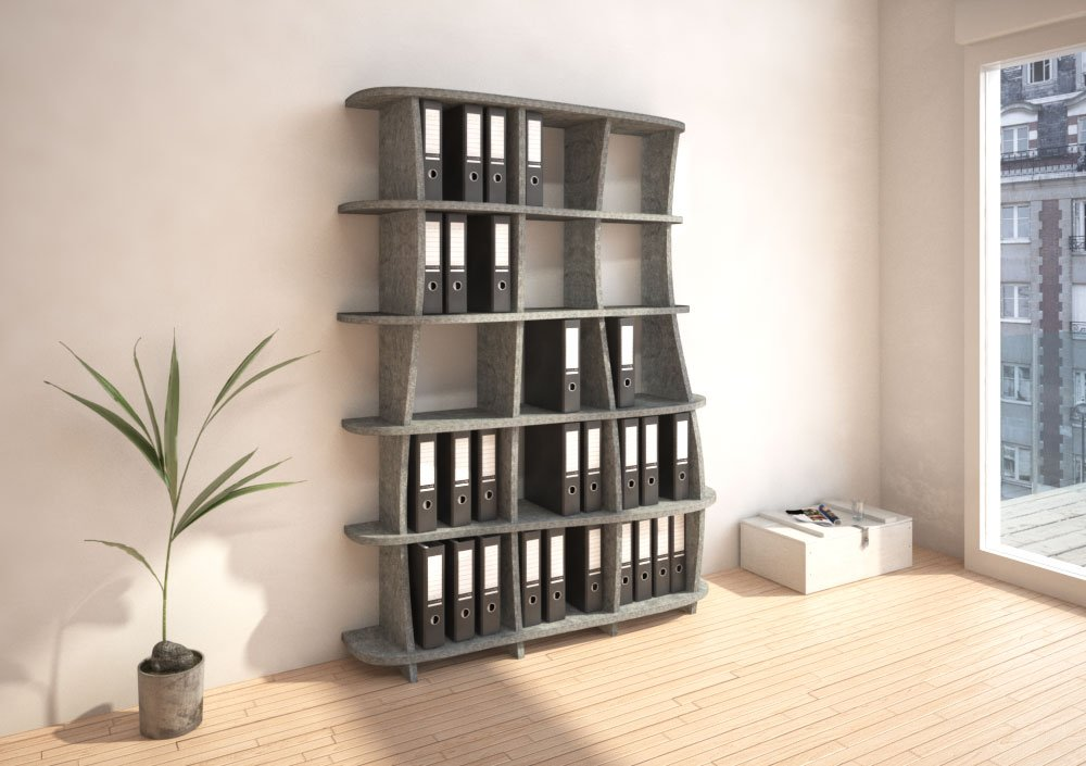 Acoustic shelf Vida - Bespoke acoustic furniture