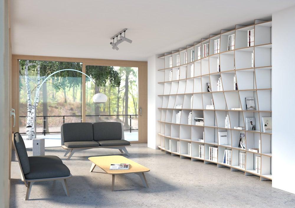 Bibliothek Pure Elegance