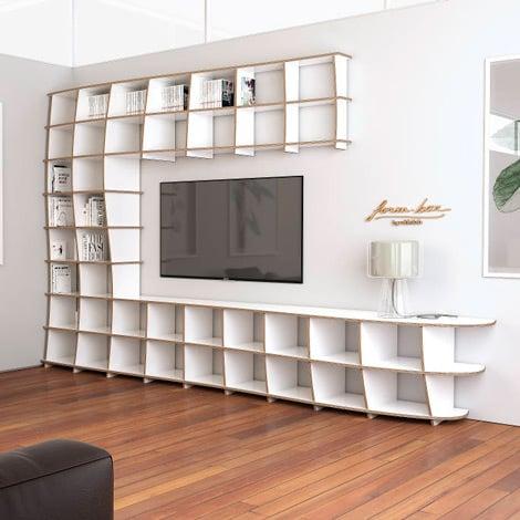 TV wall Cielo - null