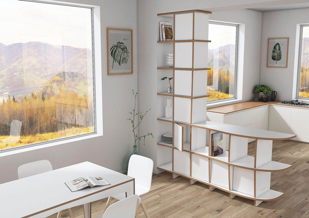 Room divider Cassia - Design your room divider made to measure