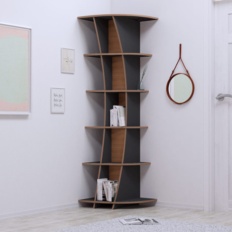Corner shelf Lisa - The freely formable shelf system