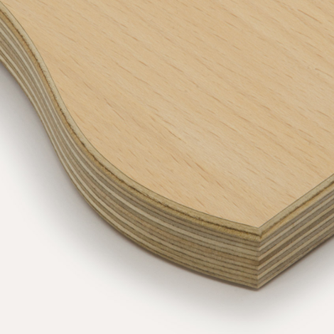 Beech veneer, birch plywood