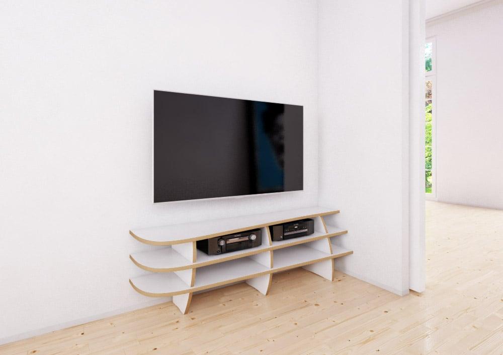 Eck Rack Designer Tv Rack Nach Maß Formbar
