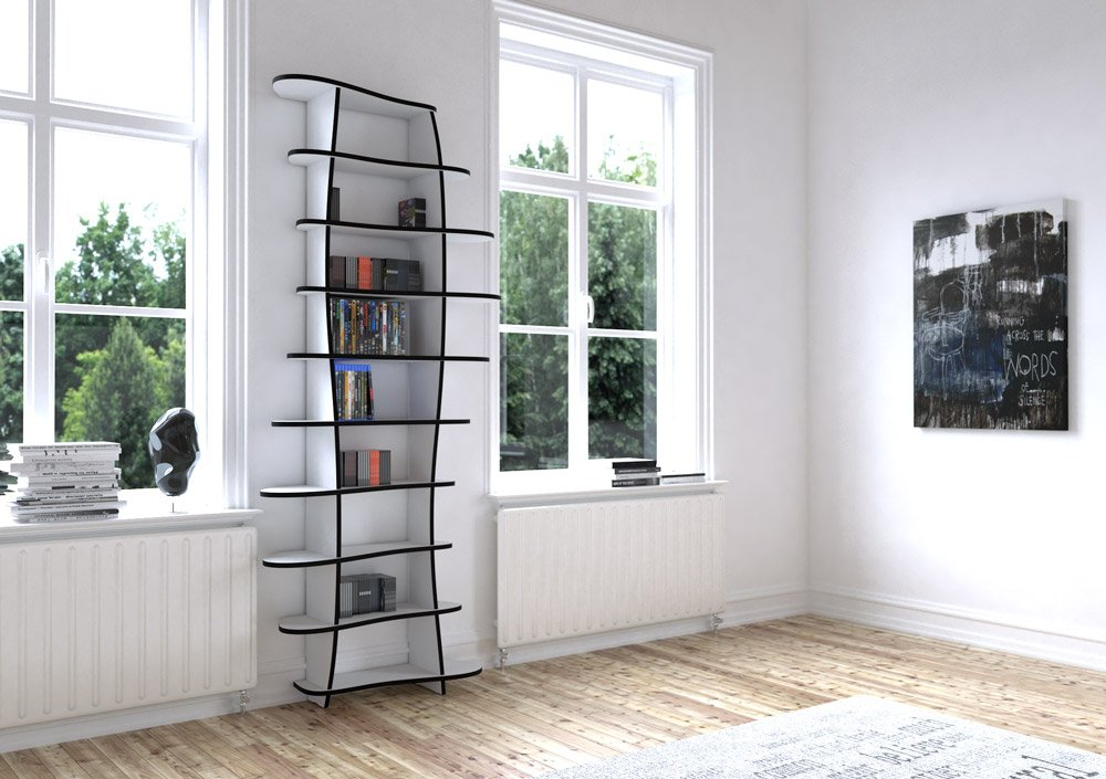 CD-DVD shelf Mila