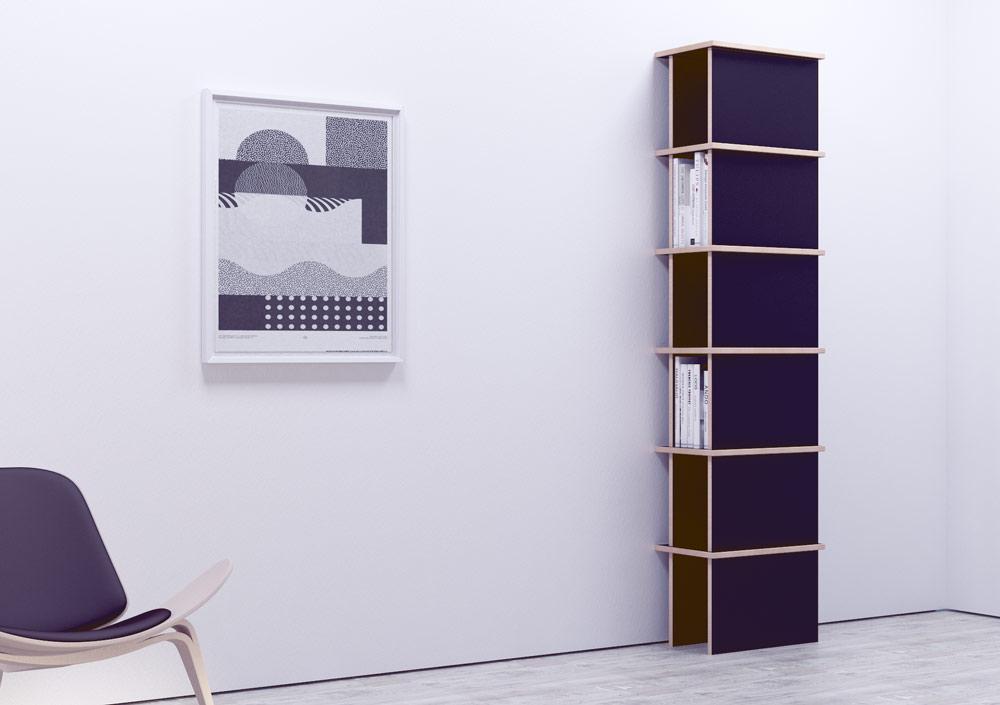 lena designer b cherregal nach ma. Black Bedroom Furniture Sets. Home Design Ideas
