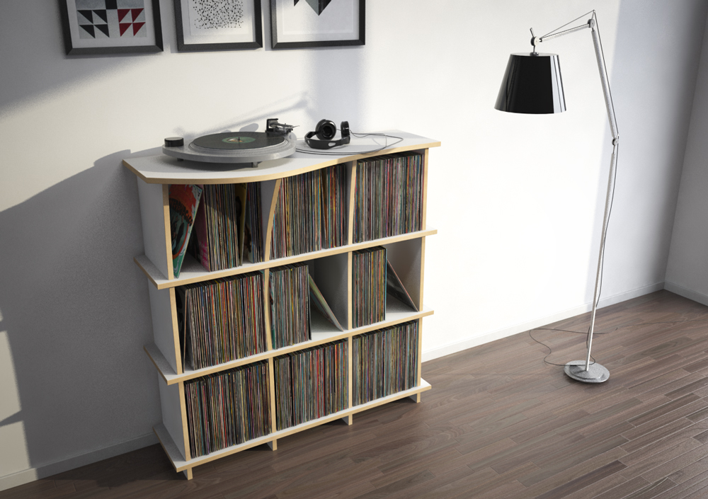 Record shelf Conco