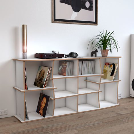 Elliott record shelf - Design your personal record shelf made to measure