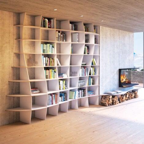 Corner shelf Charlotta MDF