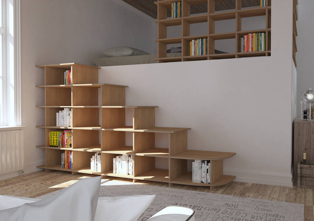Step shelf Scala