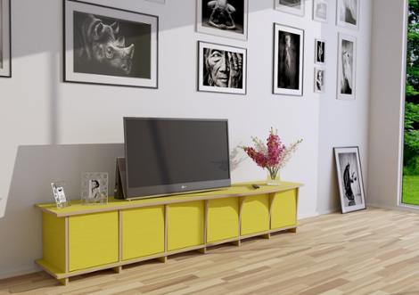pura designer tv schrank nach ma. Black Bedroom Furniture Sets. Home Design Ideas