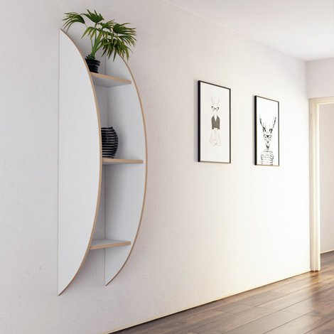 Wall shelf Becca - null