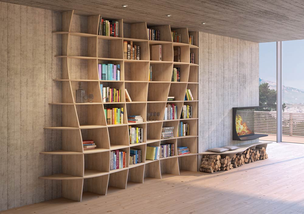 Bookshelf Charlotta