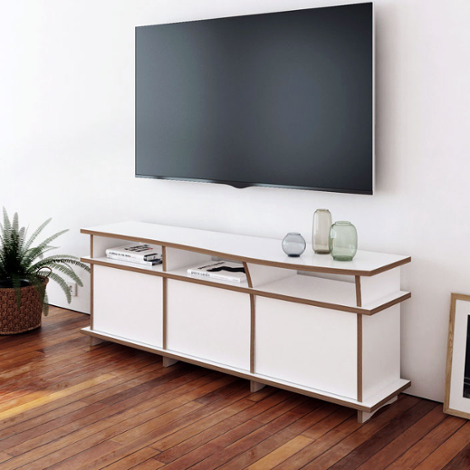 Designer TV cabinet made to measure Pure