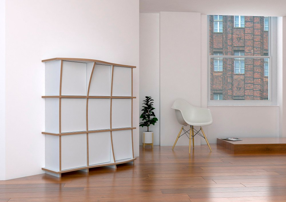 Highboard Pure im hellen Penthouse