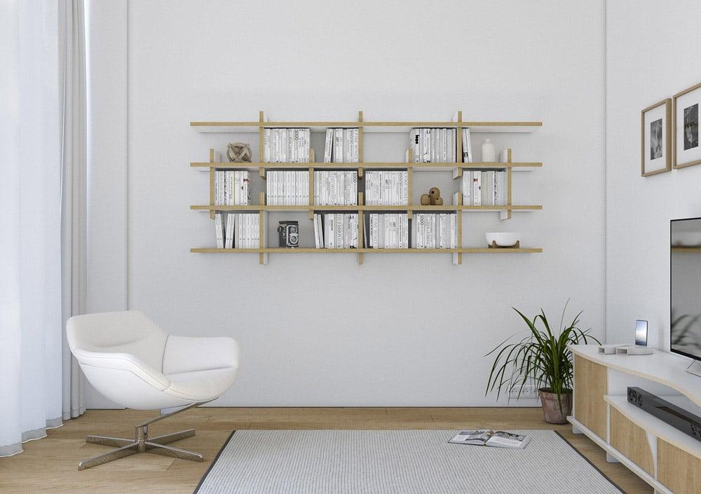 Wall shelf Claud - null