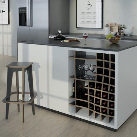 Designer-Weinregal nach Maß Vinny