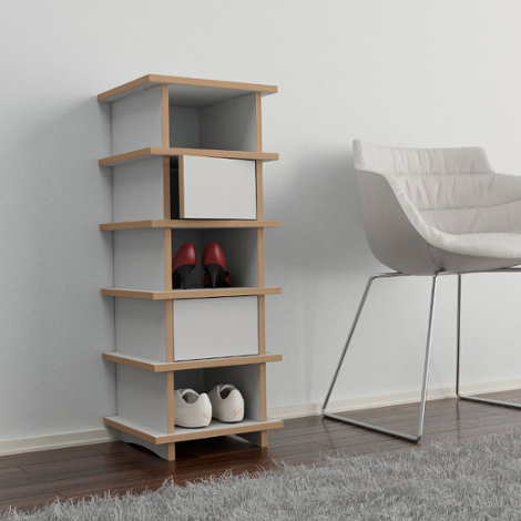 glenni designer schuhregal nach ma. Black Bedroom Furniture Sets. Home Design Ideas