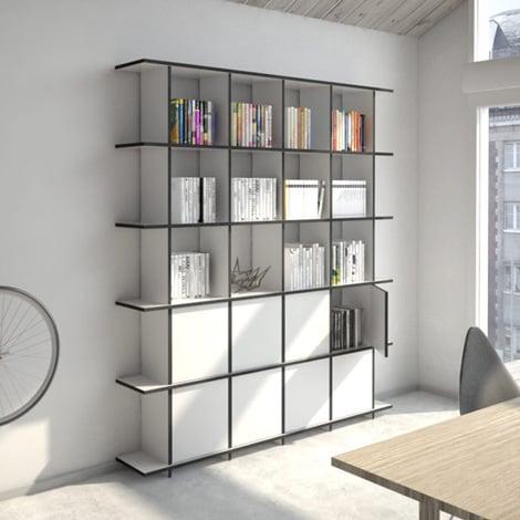 Designer-Bücherregal nach Maß Strada M Porta