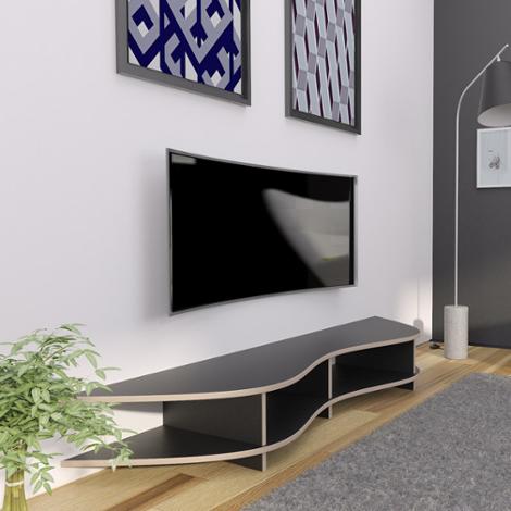 TV-Board Lowya - Designer-TV-Board nach Maß schwarz