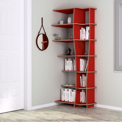 Corner shelf Anna - The freely formable shelf system
