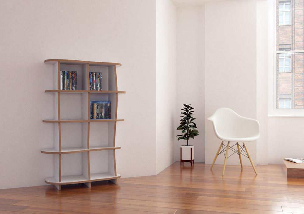 nela designer cd dvd regal nach ma. Black Bedroom Furniture Sets. Home Design Ideas