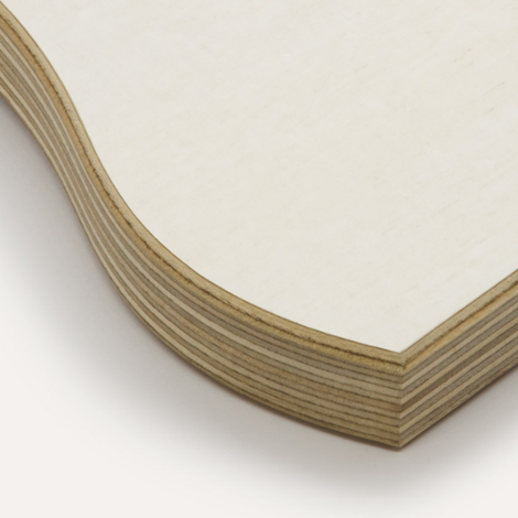 Eco white, birch plywood