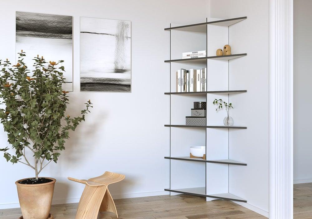 Corner shelf Ango - null