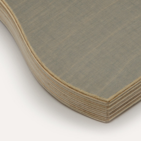 Eco medium gray, birch plywood