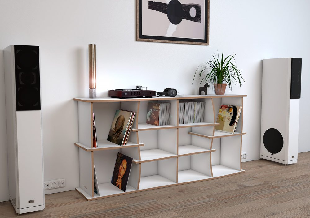 Record shelf Elliott