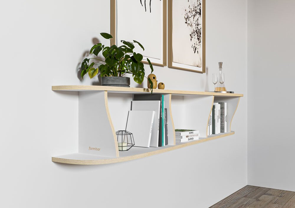 Wall shelf Onda - null