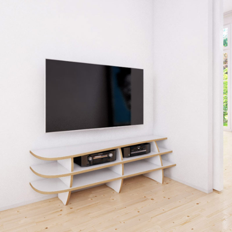 TV-Rack Eck-Rack
