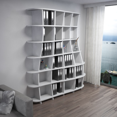 Acoustic shelf Freeda M - Bespoke acoustic furniture