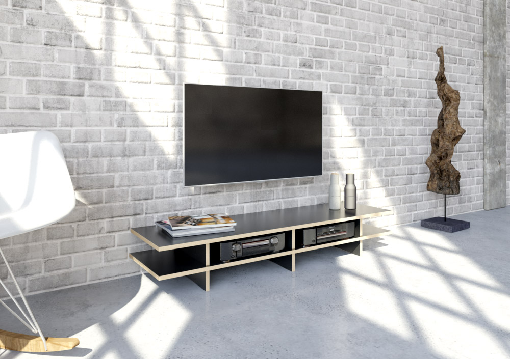 Stradalowa   Designer-TV-Lowboard nach Maß   form.bar