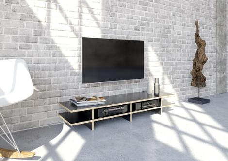stradalowa designer tv lowboard nach ma. Black Bedroom Furniture Sets. Home Design Ideas