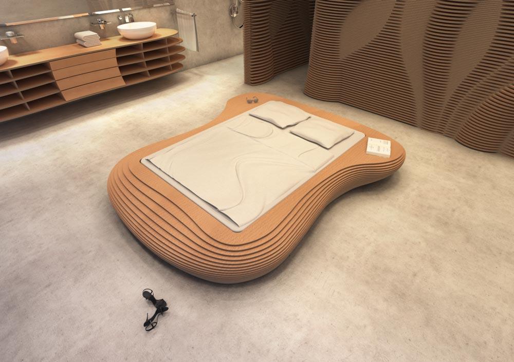 Idra Beech - Your individual designer bed