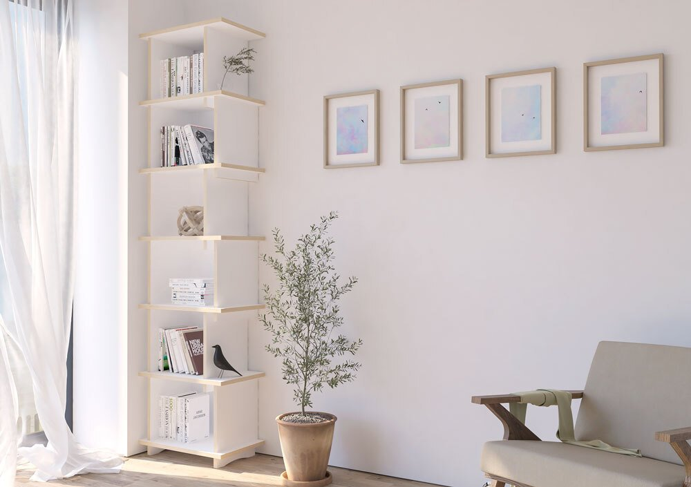 Corner shelf Mentu - null