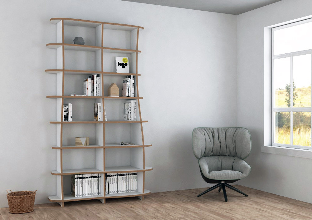 lovely designer b cherregal nach ma. Black Bedroom Furniture Sets. Home Design Ideas