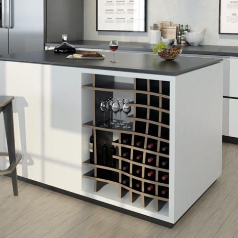 Designer-Küchenregal nach Maß Vinny