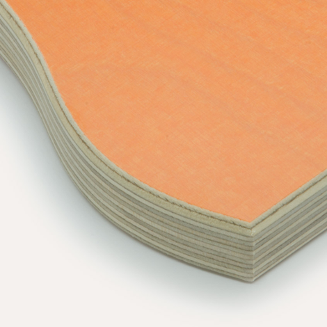 Eco orange, birch plywood