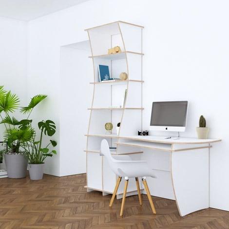 Designer-Schreibtisch nach Maß Mateo