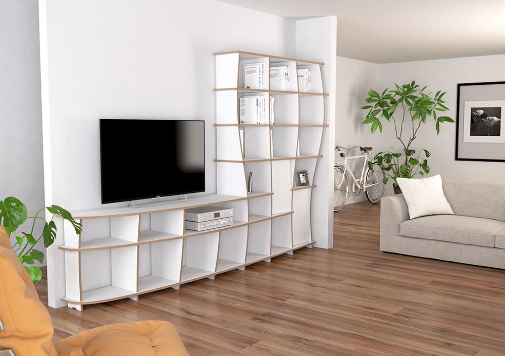 TV wall Kelinda - null