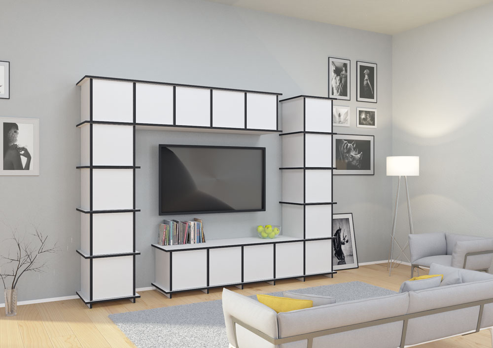 tv wand nach ma. Black Bedroom Furniture Sets. Home Design Ideas