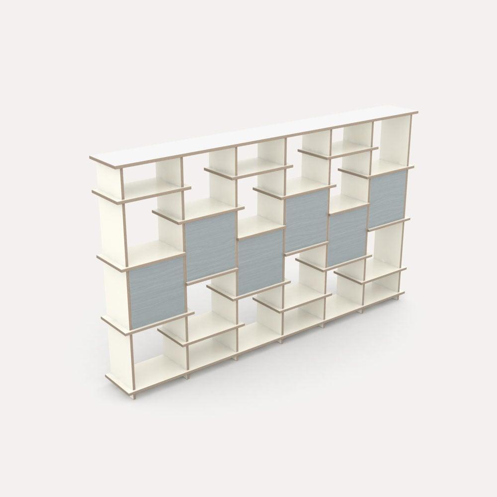 irregular designer b cherregal nach ma. Black Bedroom Furniture Sets. Home Design Ideas