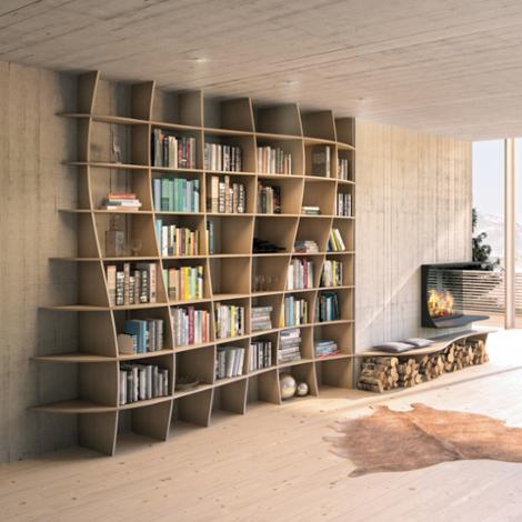 Designer shelf Charlotta - null