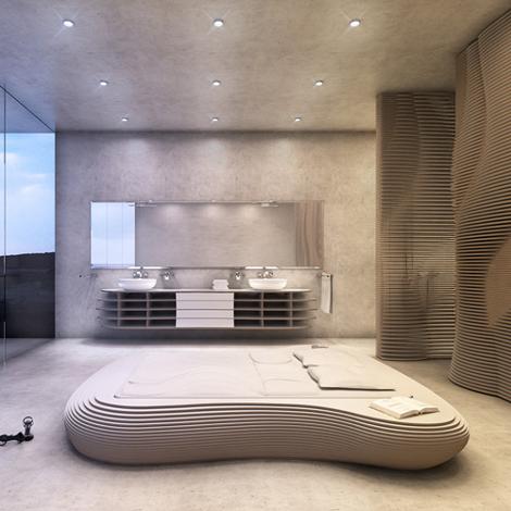 Bed Idra White