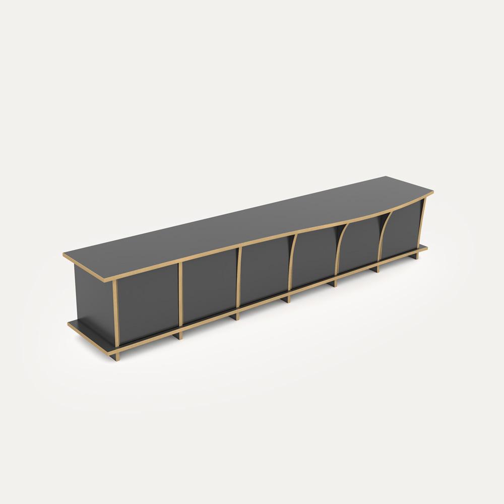 pura designer lowboard nach ma. Black Bedroom Furniture Sets. Home Design Ideas
