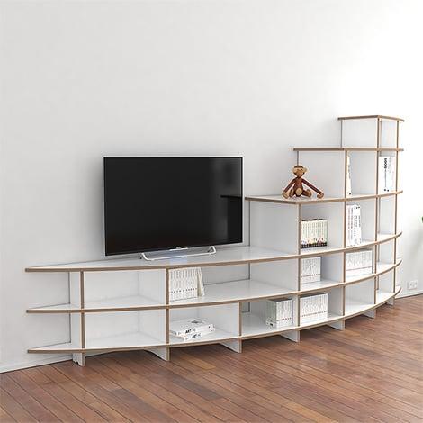 TV wall Laura - null