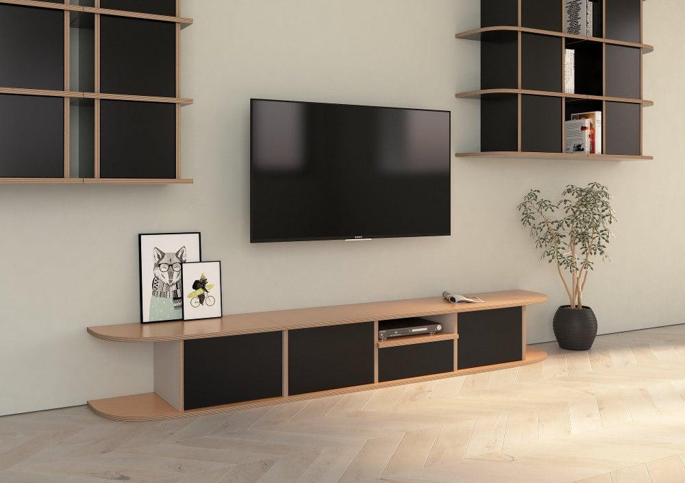 TV-Lowboard Hugo für dein Heimkino