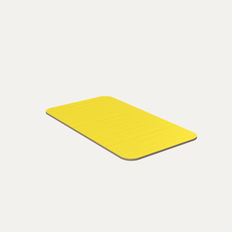 Yellow Plate - null